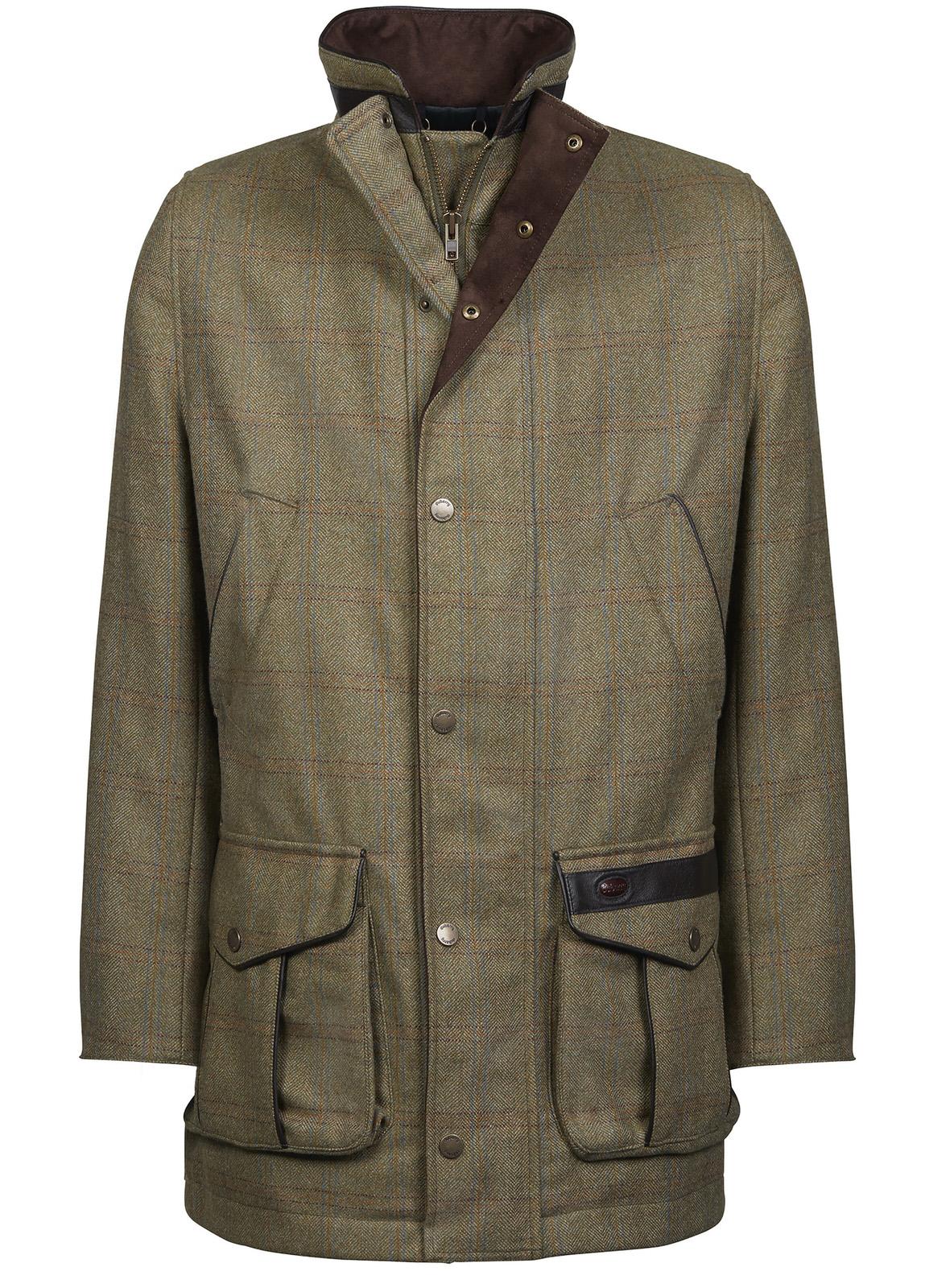 Ballyfin Tweed Jacket - Acorn