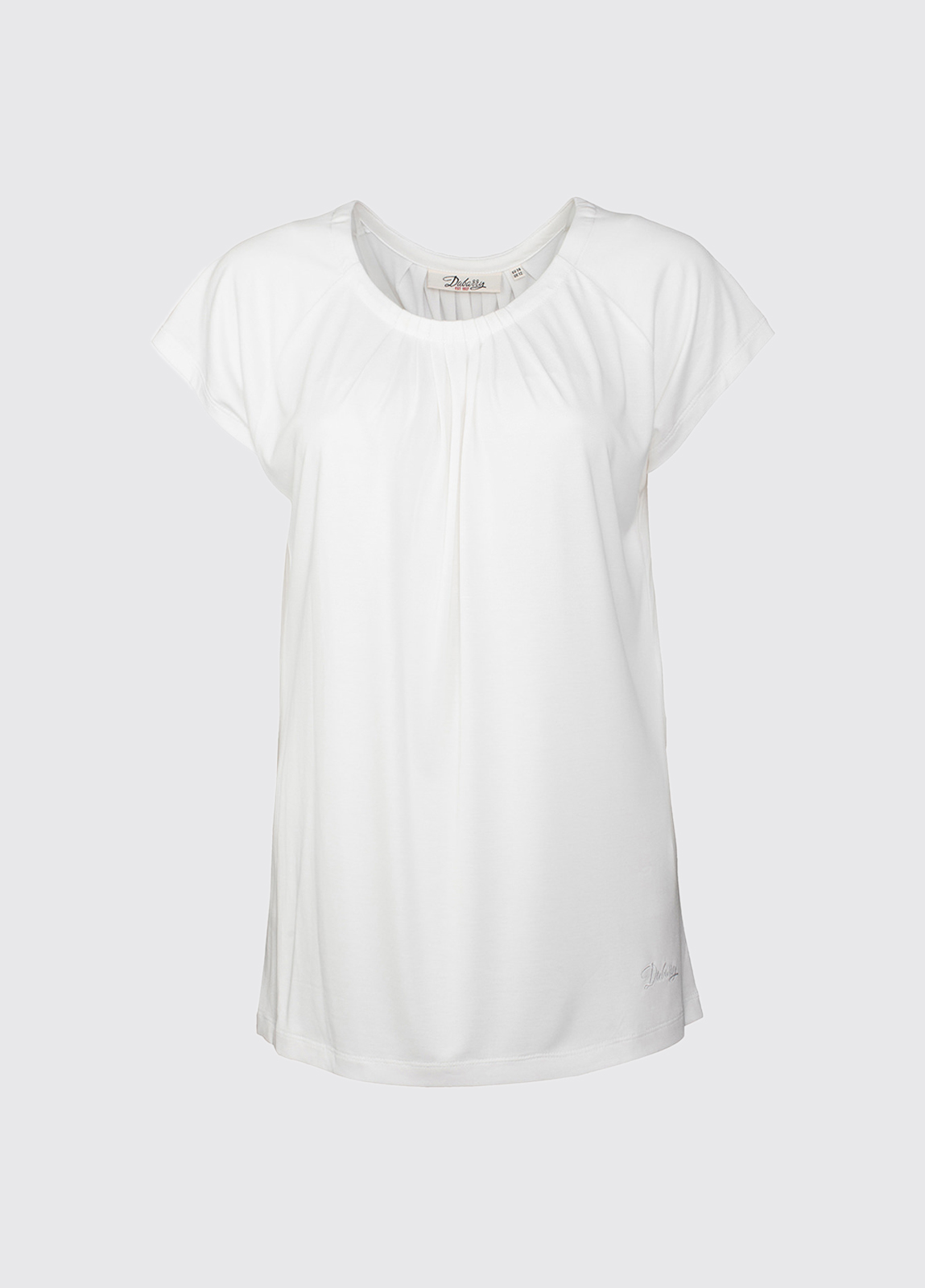 Quilty ladies top - White