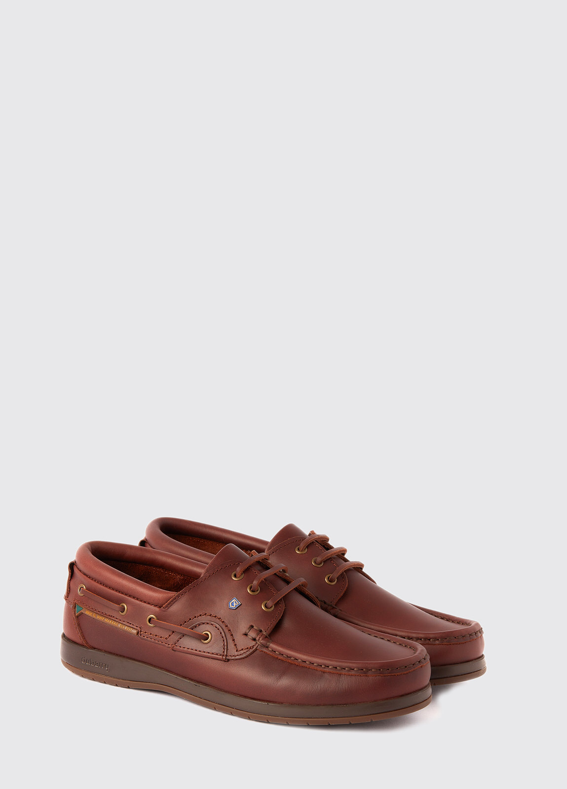 Commodore XLT Deck Shoe - Mahogany