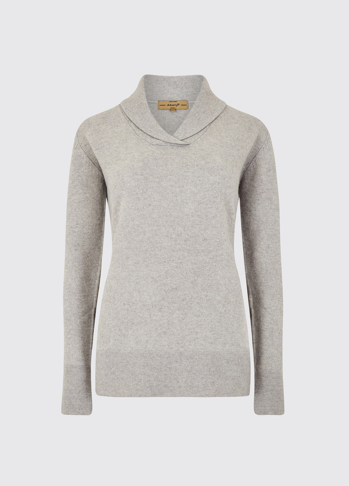 Dunaghmore Sweater - Silver Grey