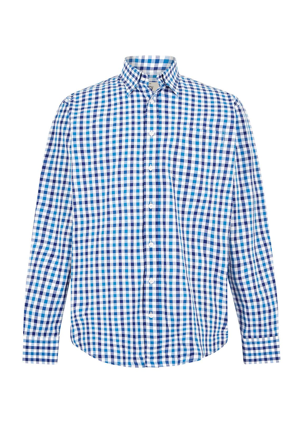 Dubarry_Coachford Shirt - Royal Blue_Image_2