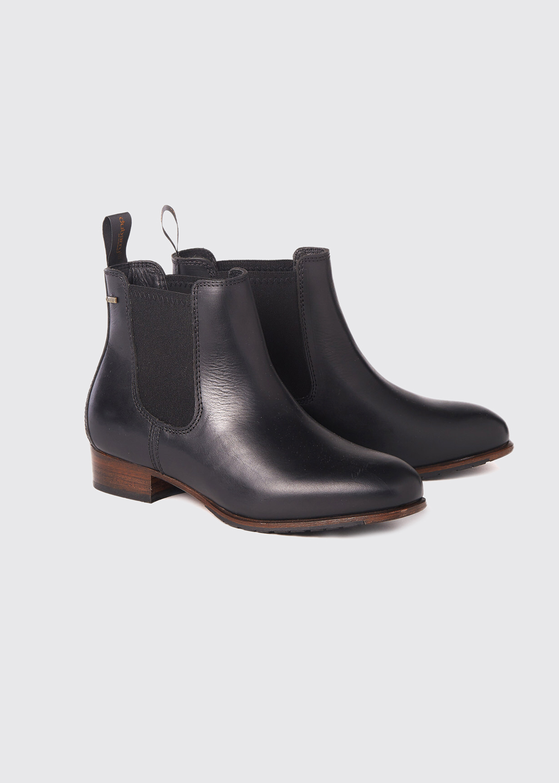 Cork Leather Soled Boot - Black