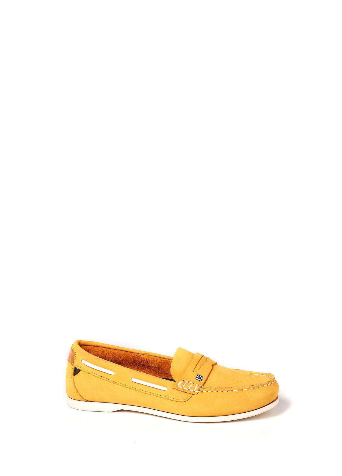 Dubarry_Belize Deck Shoe - Sunflower_Image_1
