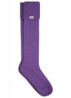 Alpaca Socks - Purple
