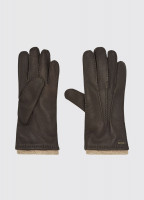 Kilconnell Leather Gloves - Mahogany