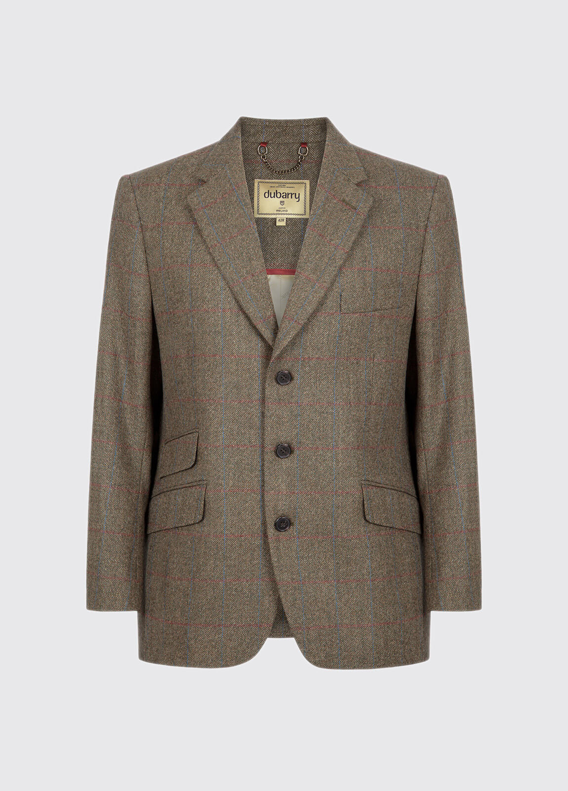 Gorse Regular Fit Tweed Jacket - Moss