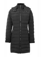 Devlin Quilted Coat - Black