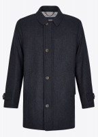 Kingham Tweed Coat - Midnight