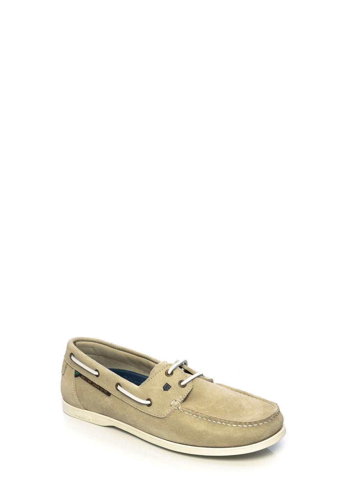 Dubarry_ Windward Mens Deck Shoe - Oyster_Image_1