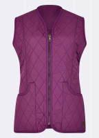 Kilruddery Quiled Gilet - Berry