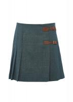 Blossom Tweed Skirt - Mist