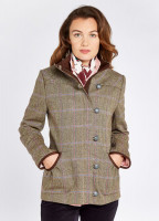 Bracken Tweed Coat - Woodrose