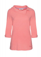 Malbay Three-quarter sleeve top - Coral