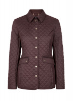 Shaw Women's Quilted Jacket - Chestnut