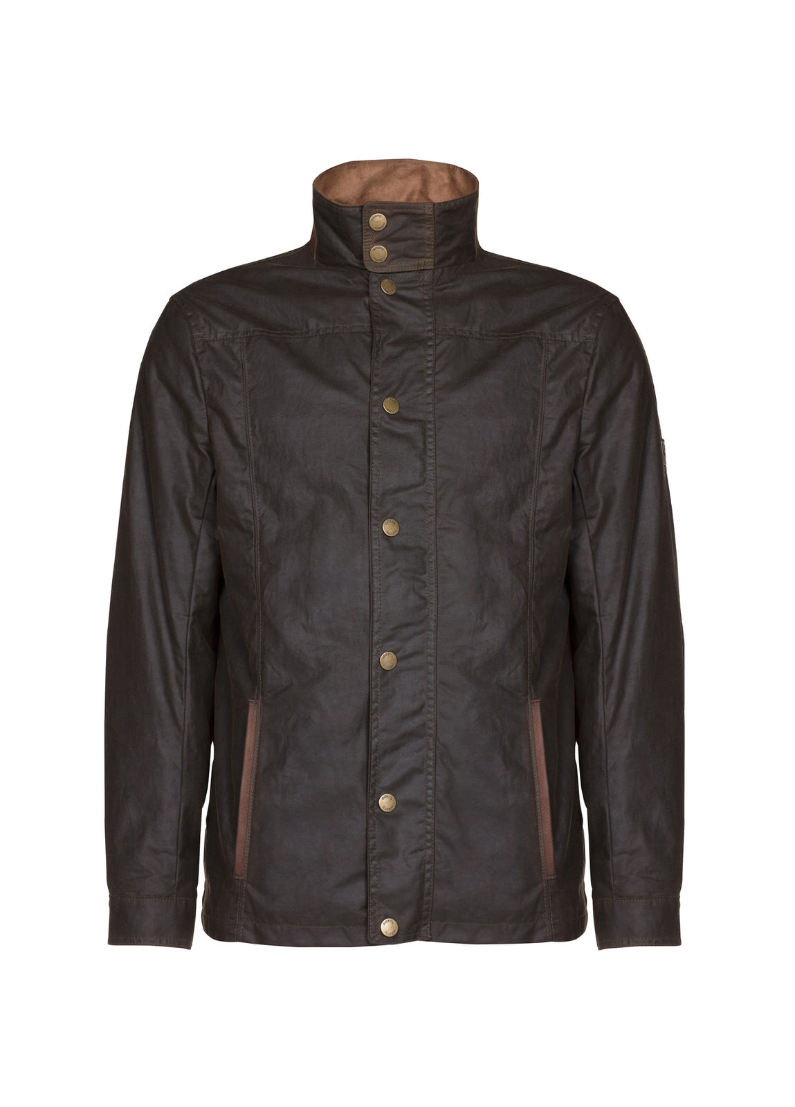 Carrickfergus_Waxed_Jacket_Olive_Image_1