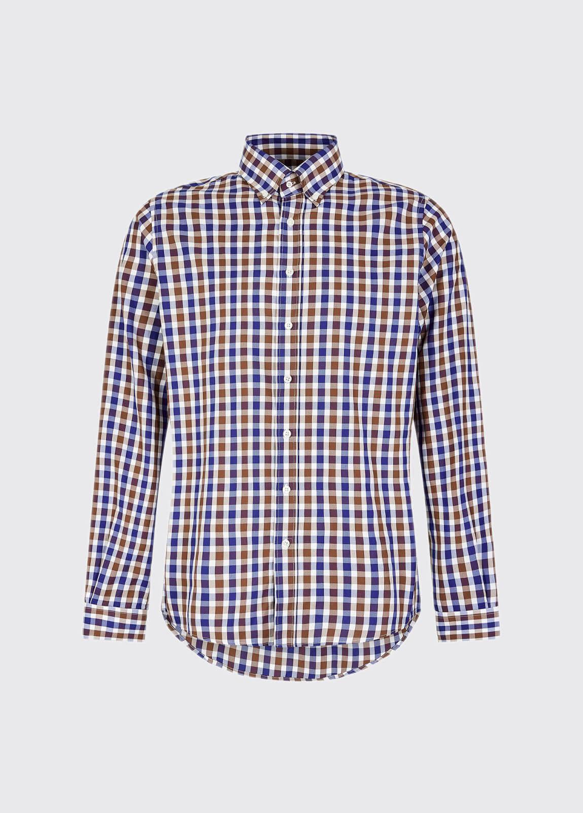 Scottstown Shirt - Cigar Multi
