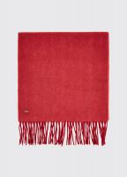 Robinson Wool Scarf - Ruby