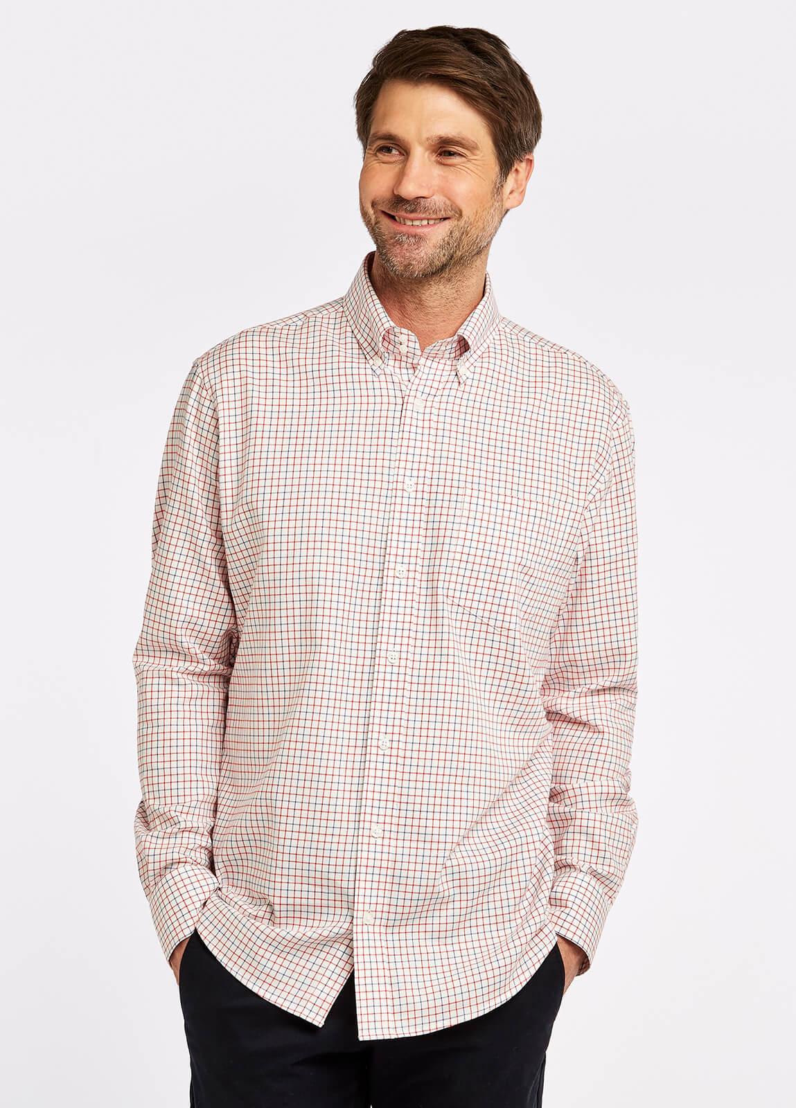 Muckross Shirt - Ruby