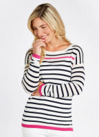 Leixlip Sweater - White Multi