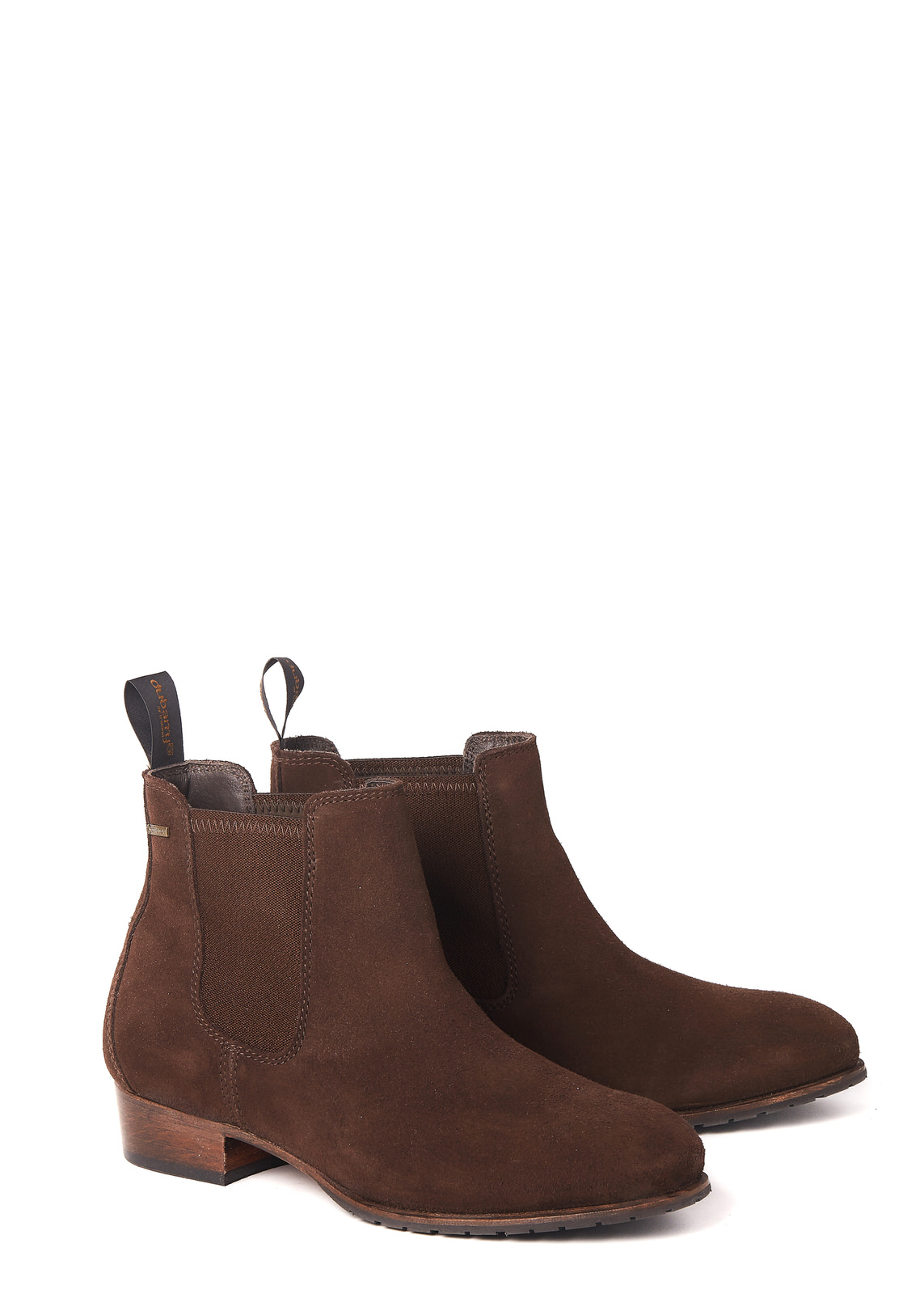 Cork Leather Soled Boot - Cigar