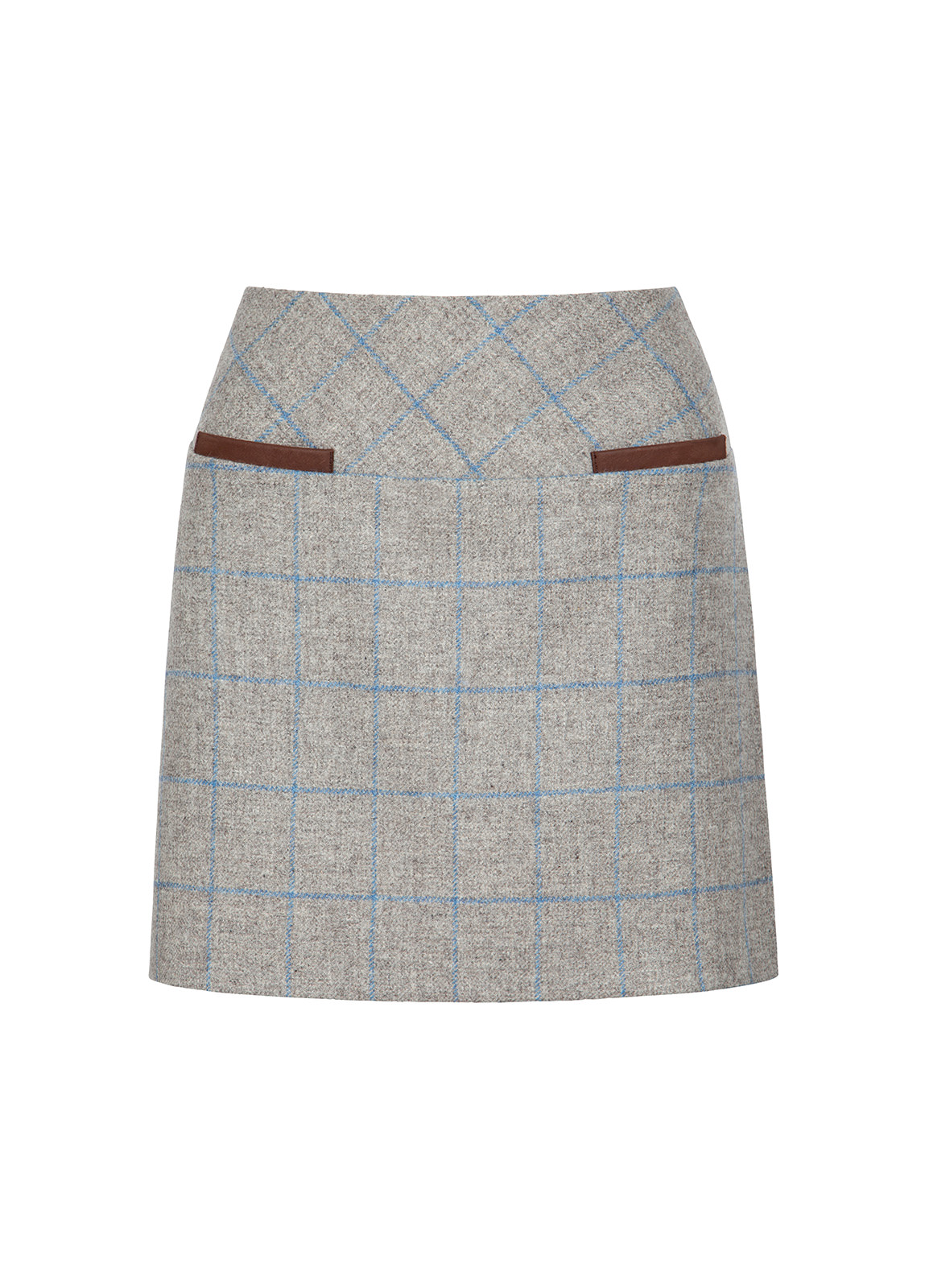 Dubarry_ Clover Tweed Mini Skirt - Shale_Image_2