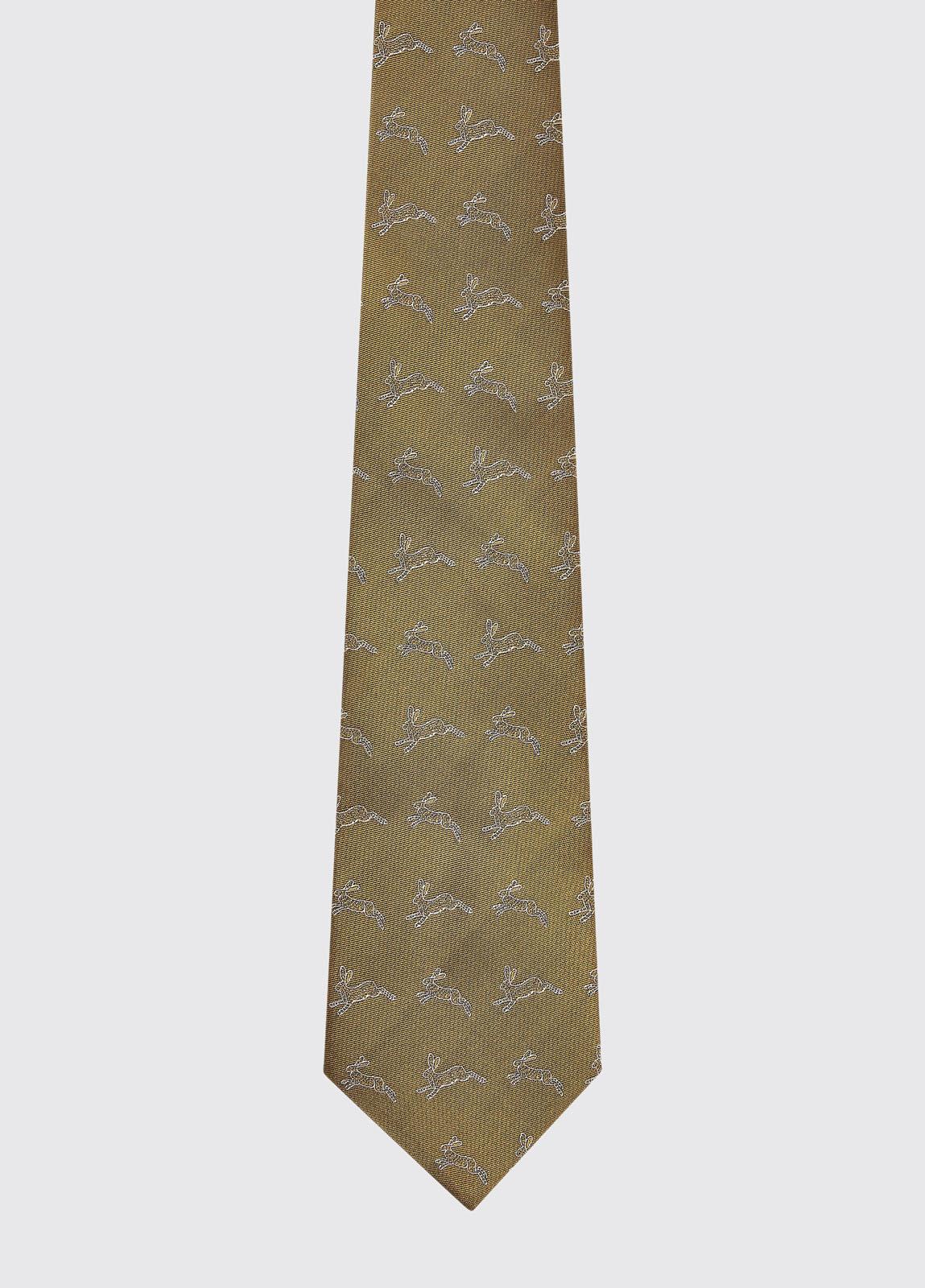 Lacken Silk Tie - Gold