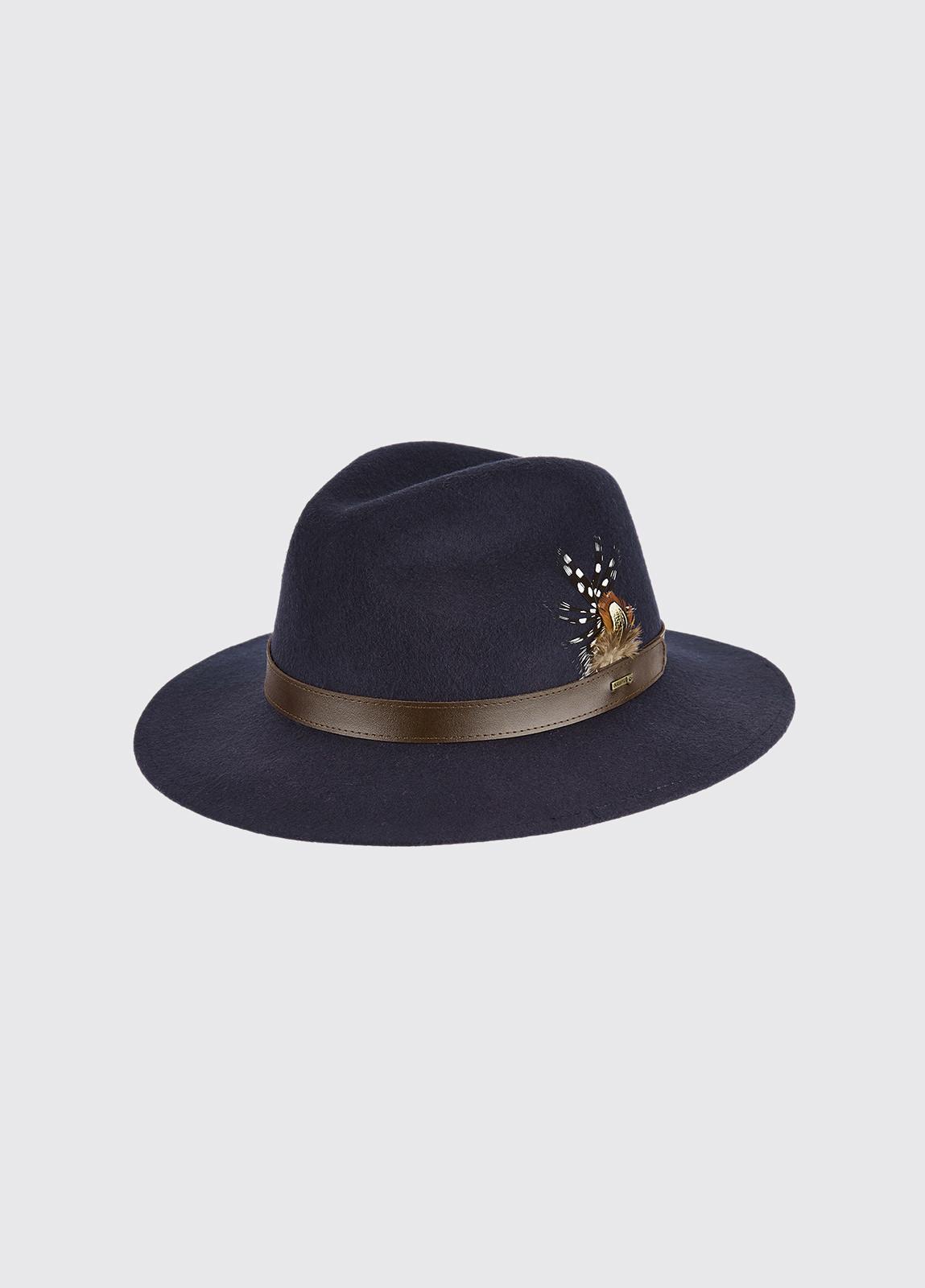 Gallagher Felt Hat - Navy