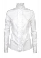 Chamomile ruche blouse - White