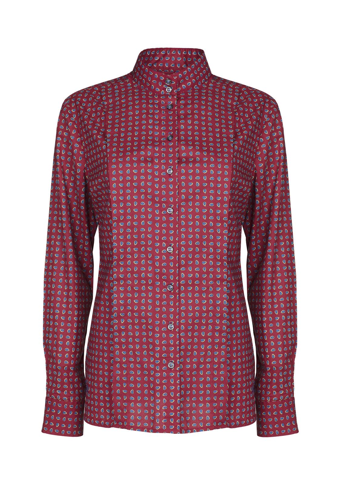 Dubarry_ Snapdragon Shirt - Malbec_Image_2