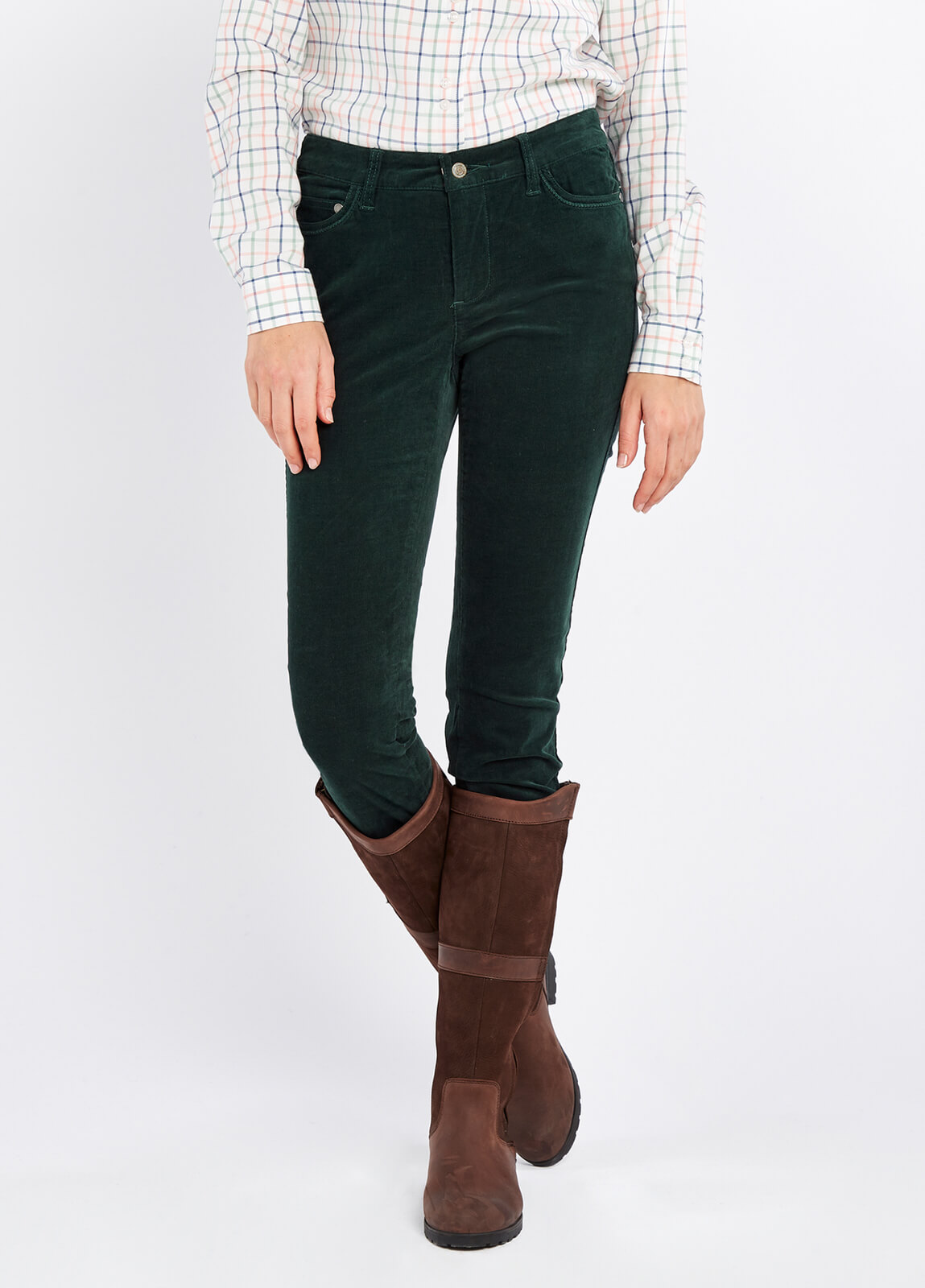 Dubarry_Honeysuckle_Jeans_Verdigris_on_model