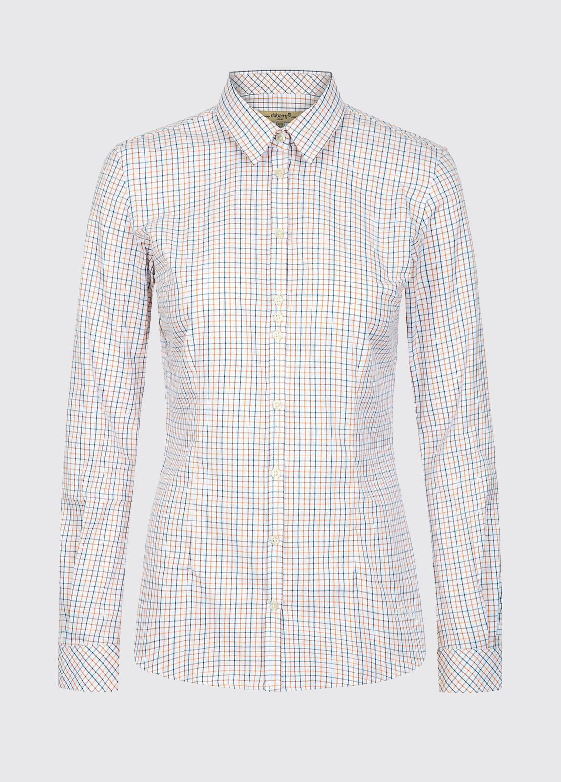 Elderflower Women's Shirt - Brown Multi