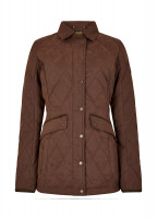 Heaney Quilted Coat - Russet