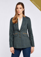 Heather Tweed Jacket - Mist