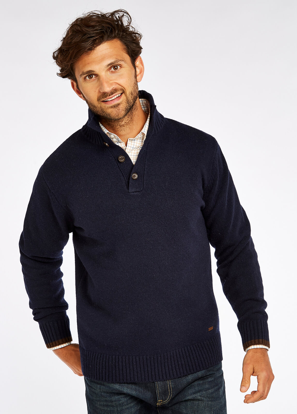 Hughes Sweater - Navy