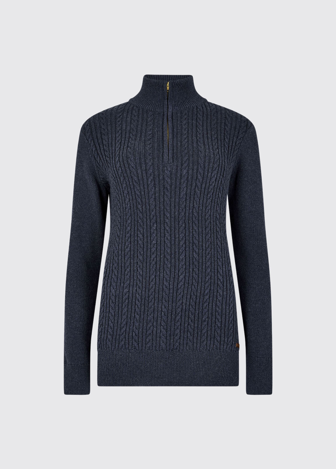 Garvey Knitted Sweater - French Navy