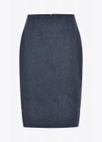 Fern Tweed Skirt - Denim