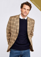 Rockingham Tweed Jacket - Pebble