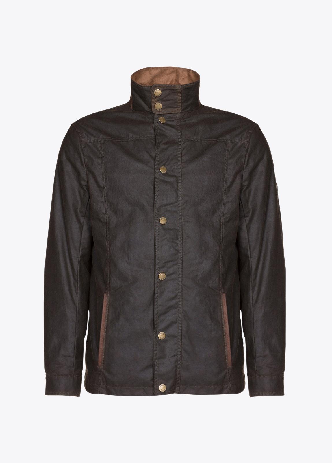 Carrickfergus Waxed Jacket - Olive