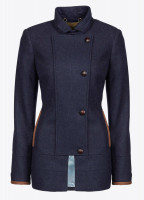Willow Tweed Jacket - Navy