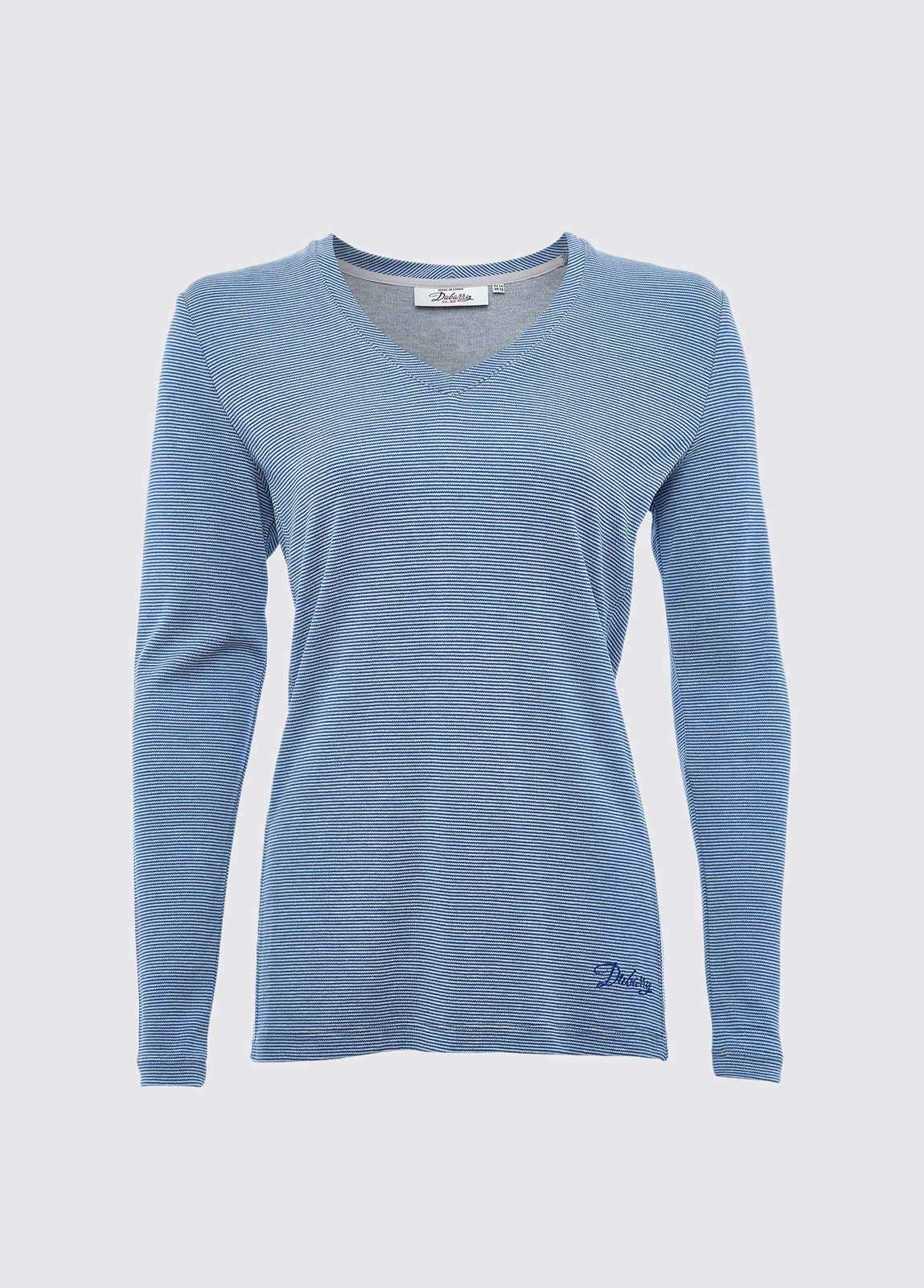 Portumna Long-sleeved Top - Denim