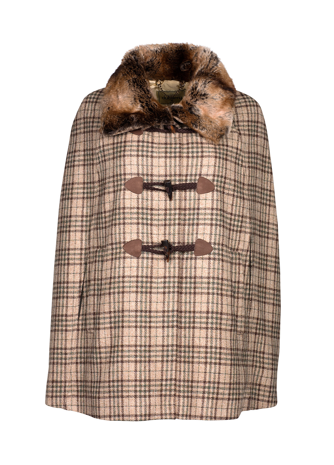 Dubarry_ Samphire Tweed Cape - Pebble_Image_2