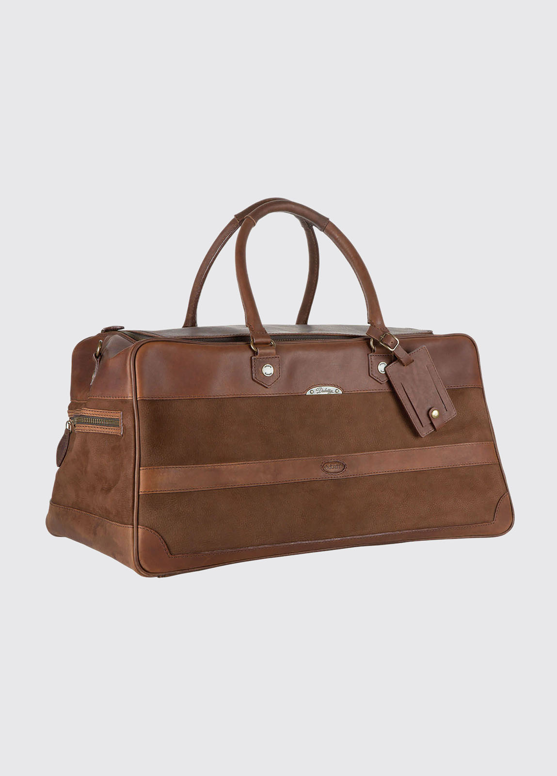 Durrow Leather Weekend Bag - Walnut