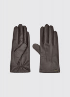Sheehan Leather Gloves - Mahogany
