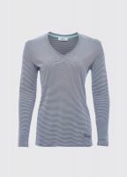Portumna Long-sleeved Top - Navy
