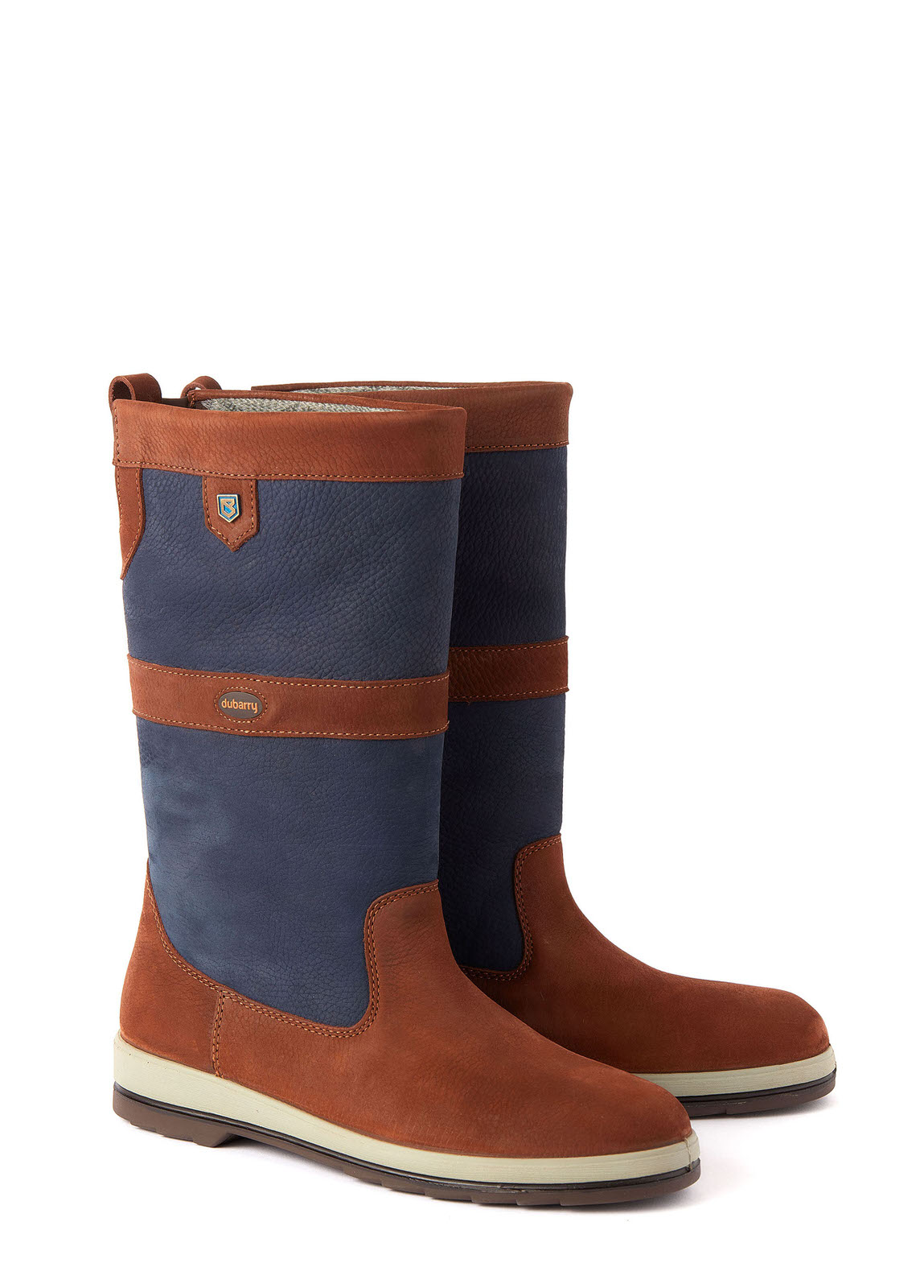 Ultima Sailing Boot - Navy/Brown
