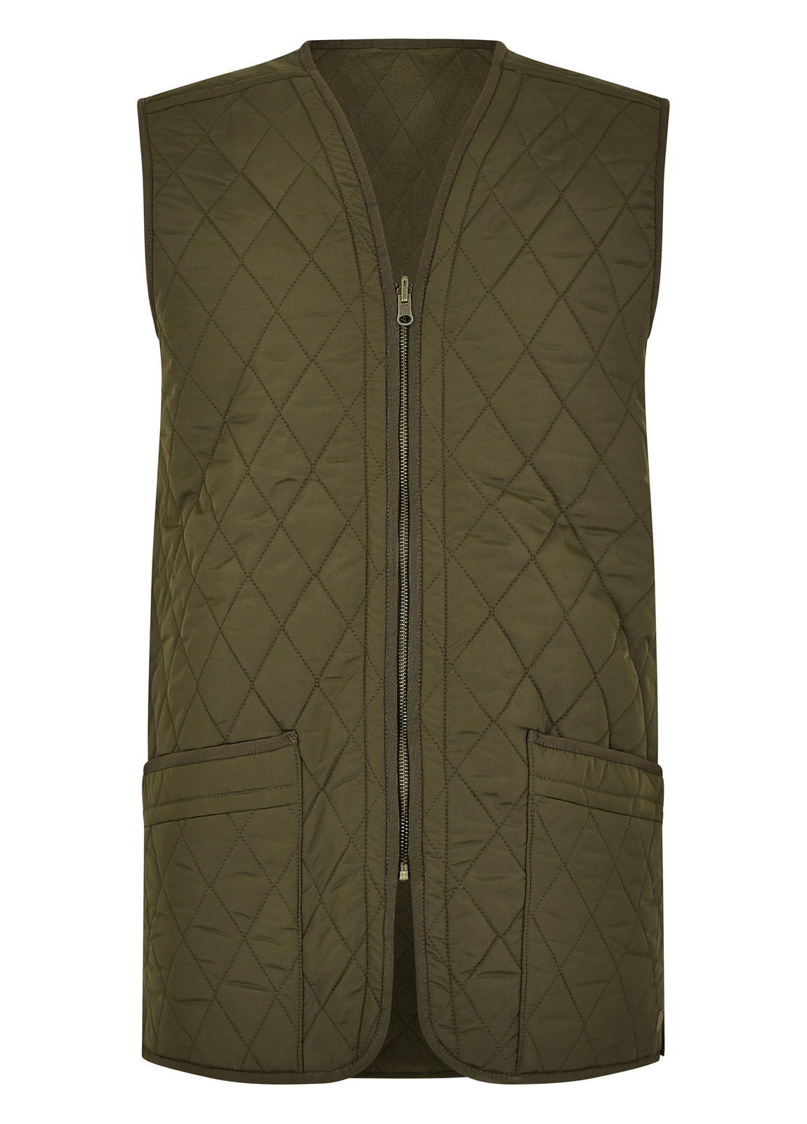 Ballygar_Quilted_Waistcoat_Olive_Image_1