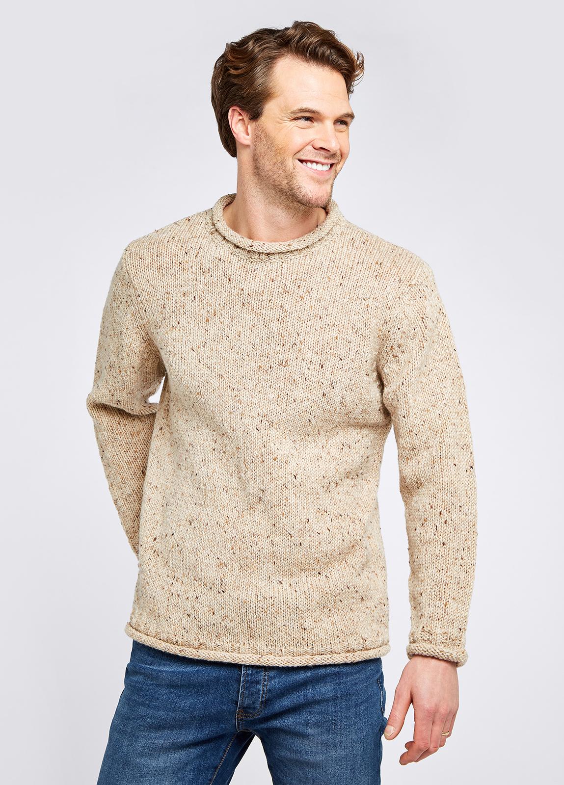Killeshin Crew Sweater - Stone