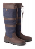 Galway Country Boot - Navy/Brown