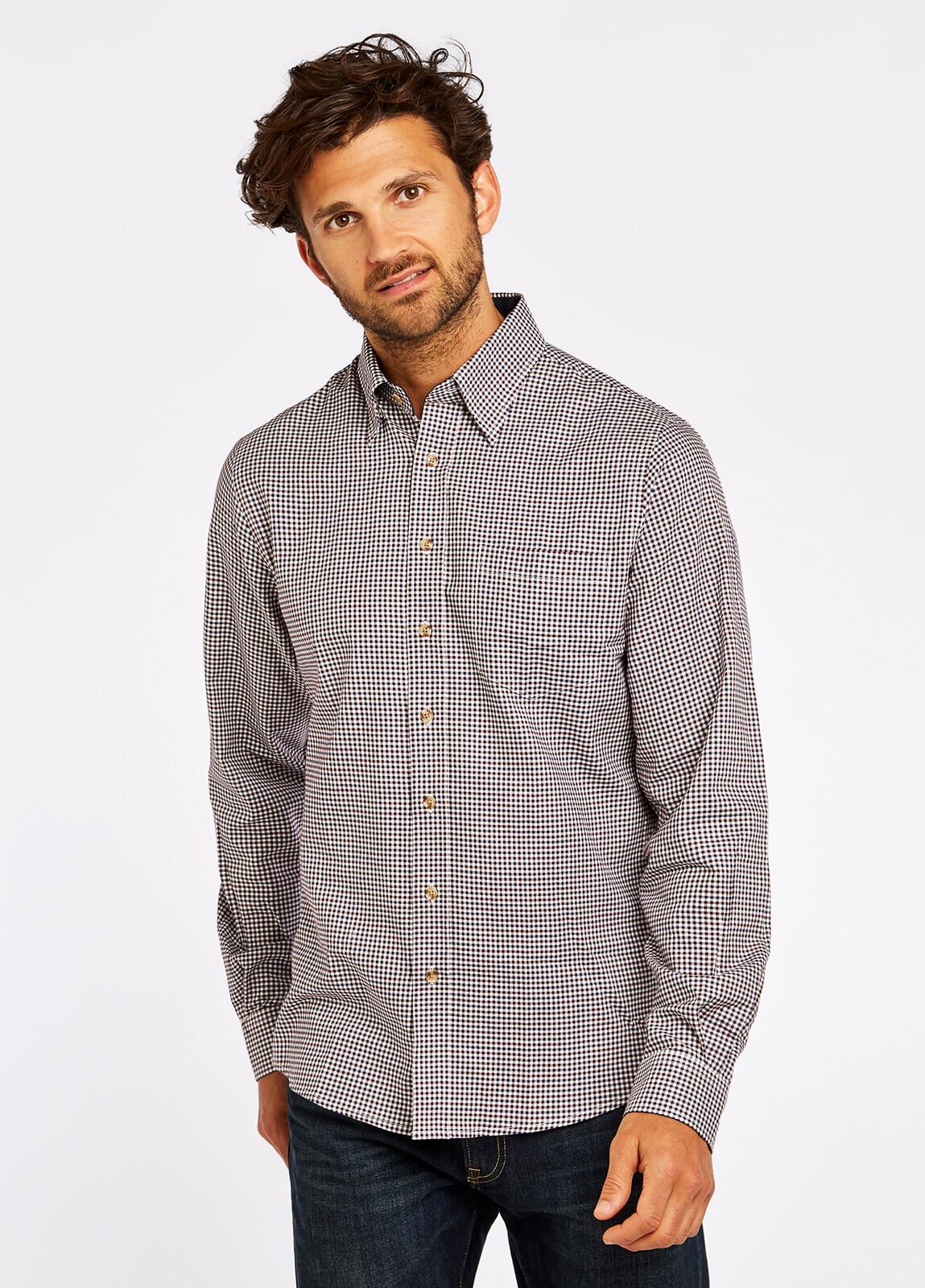 Shrewsbury Shirt - Navy Multi
