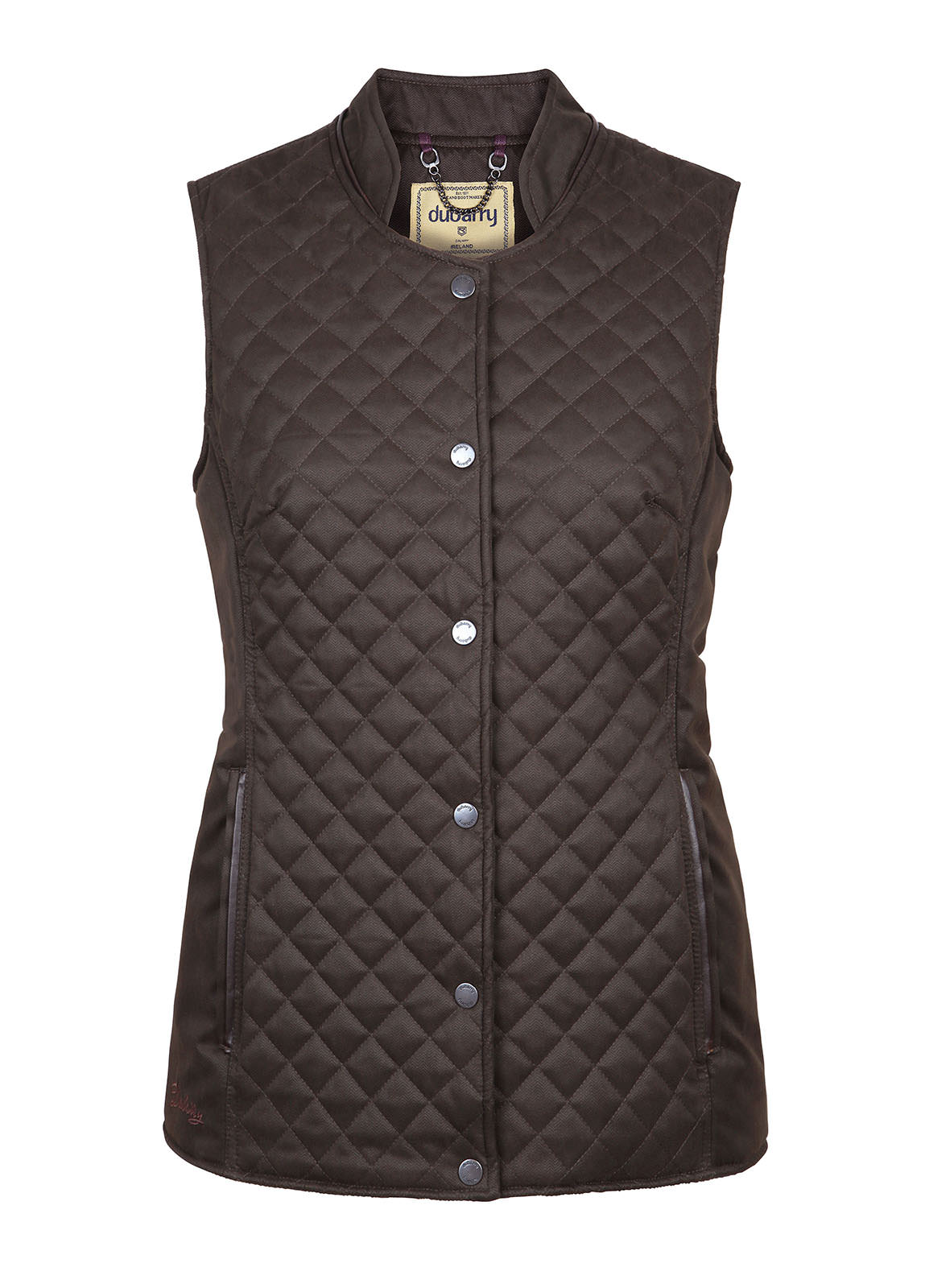 Dubarry_ Wilde Womens Quilted Gilet - Verdigris_Image_2